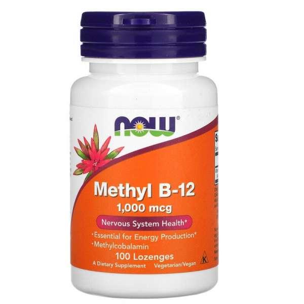 NOW Methyl B-12 1000mcg, 100 Kapseln