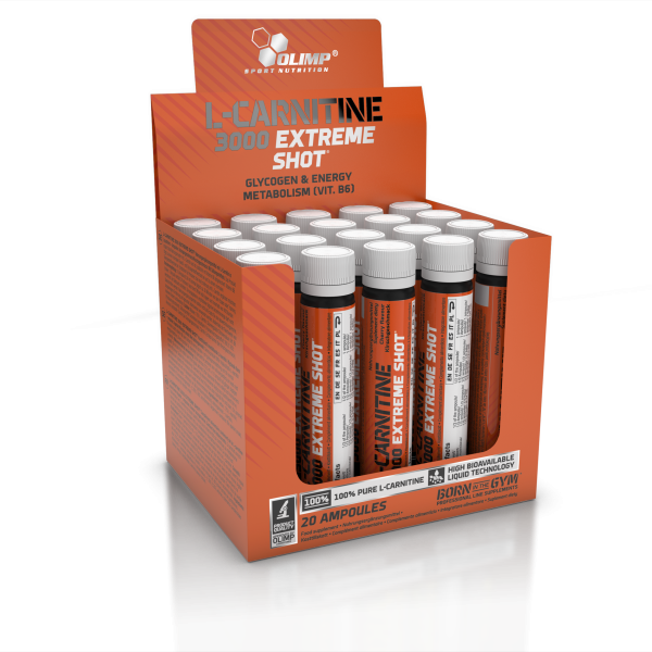 L-Carnitine 3000 Extreme Shot (20x25ml), 500ml