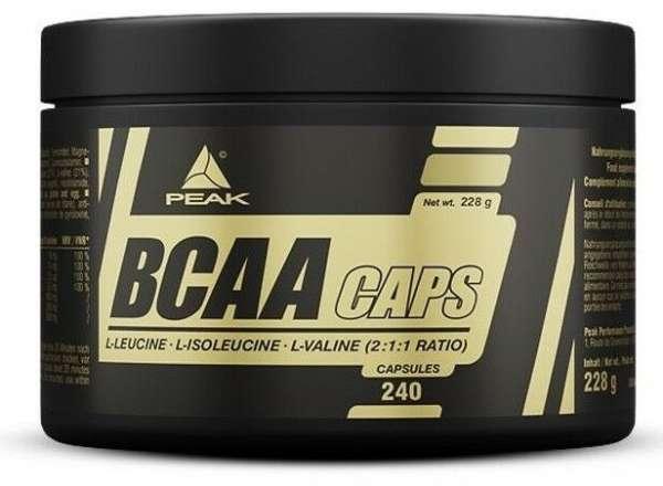 Peak BCAA, 240 Kapseln