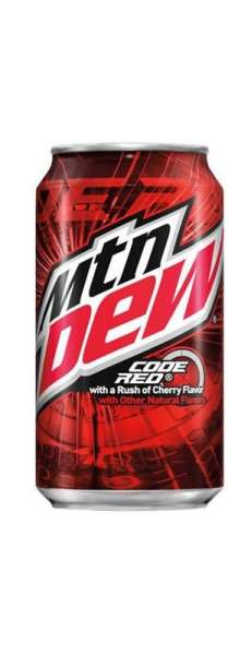 Mountain Dew Code Red, 355 ml