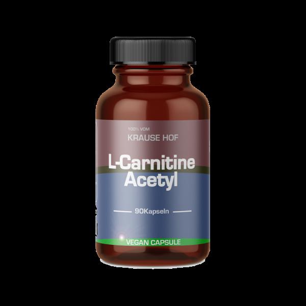 Krause Hof L-Carnitine Acetyl, 90 Kapseln