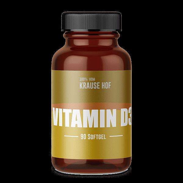 Krause Hof Vitamin D3, 90 Softgel
