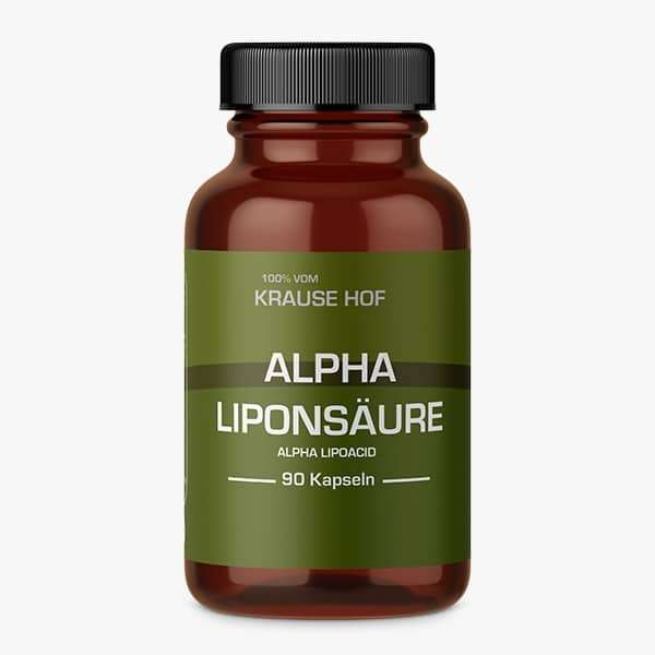 Krause Hof Alpha Liponsäure, 90 Kapseln