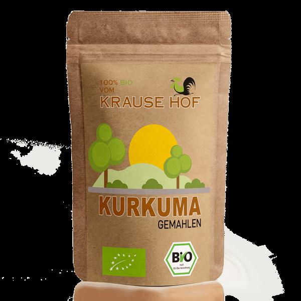 Krause Hof 100% Bio Kurkuma, 500g