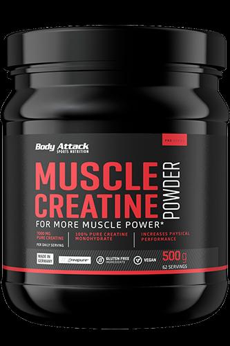 Body Attack Muscle Creatine Creapure, 500g