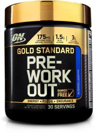 Optimum Nutrition Gold Standard Pre - Workout, 330g