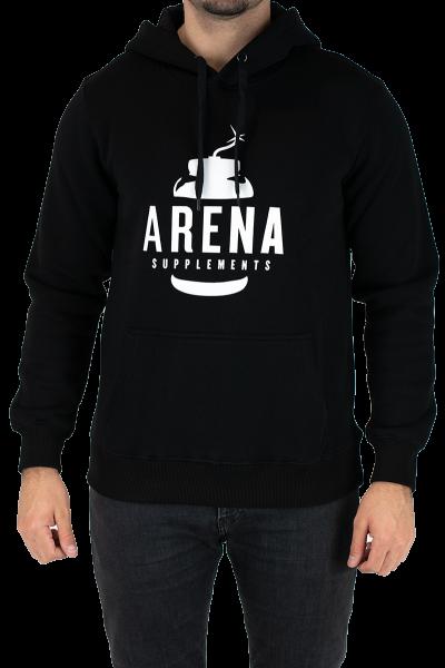 Arena Supplements Hoodie, Schwarz