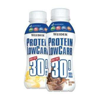 Weider Protein Low Carb Zero Fat, 330 ml