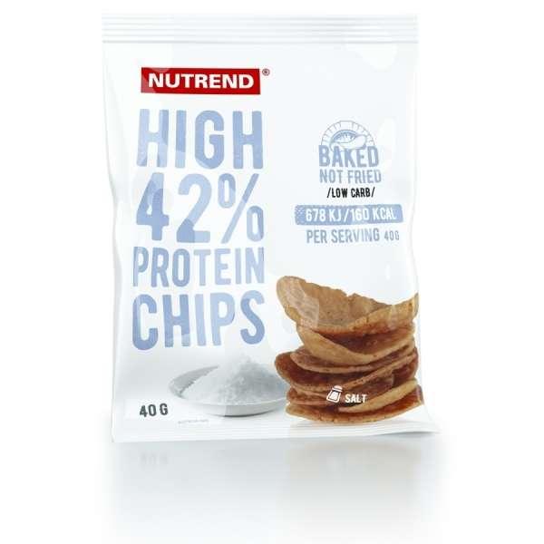Nutrend High Protein Chips, 40g