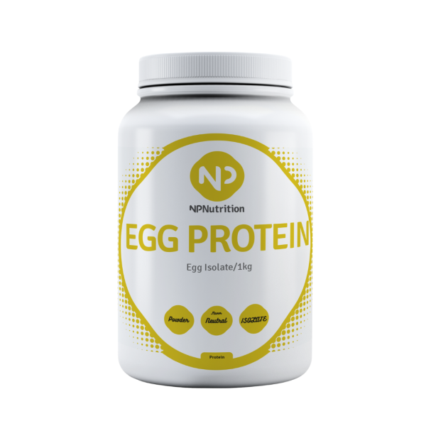 NP Nutrition - Egg Protein Isolate Neutral, 1000g