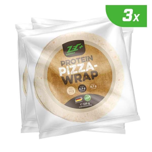 Zec+ Protein Pizza Wraps 3er Pack, 960g