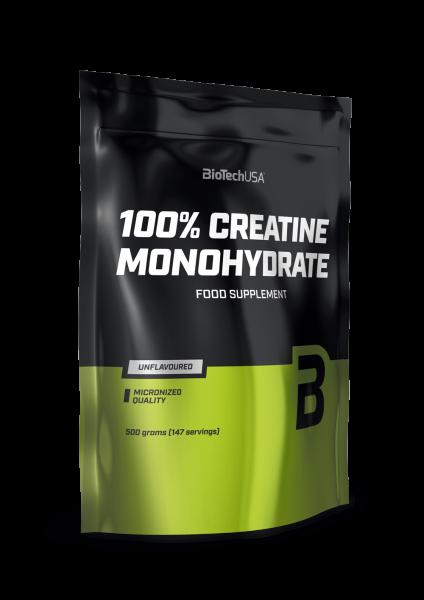 Biotech USA 100% Micronized Creatine Monohydrat, 500g