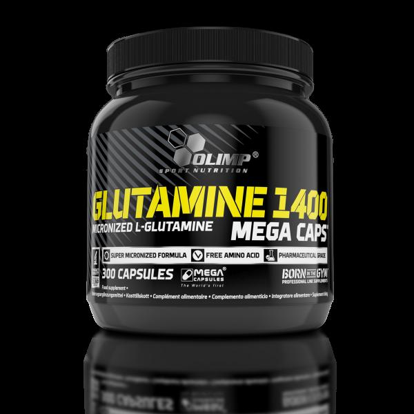 Olimp L-Glutamine Mega Caps 1400, 300 Kapseln