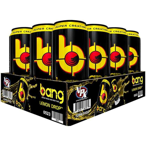 Bang Energy Drink, 24x500 ml 12L (Inklusive Pfand)
