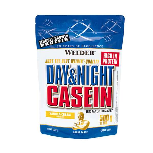 Weider Day & Night Casein, 500g