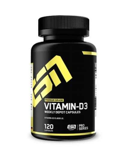 ESN Vitamin-D3, 120 Kapseln