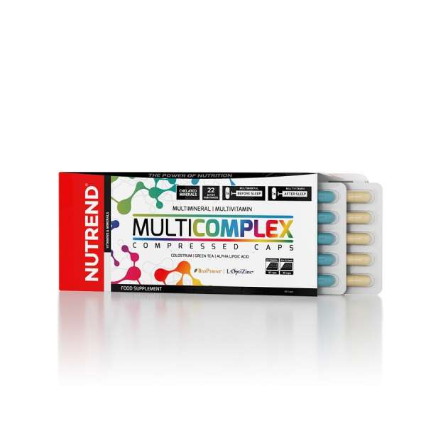 Nutrend Multicomplex Compressed Caps, 60 Kapseln