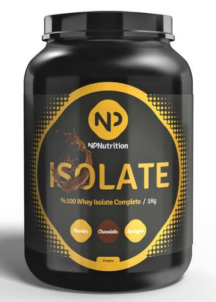 NP Nutrition Isolate Complete, 1000g