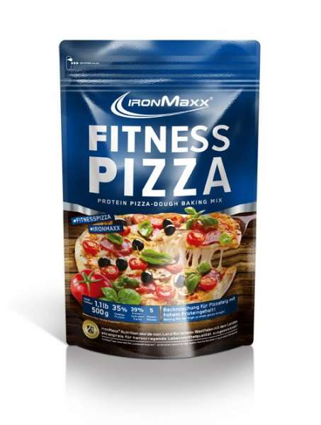 IronMaxx Fitness Pizza Beutel, 500g