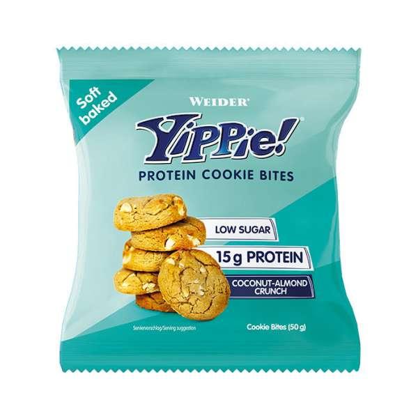 Weider Yippie Protein Cookie Bites, 50g