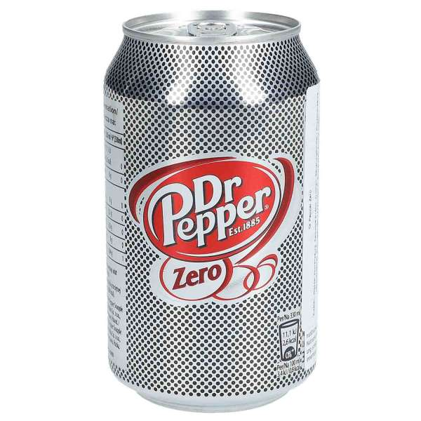 Dr. Pepper Zero, 24 x 330ml
