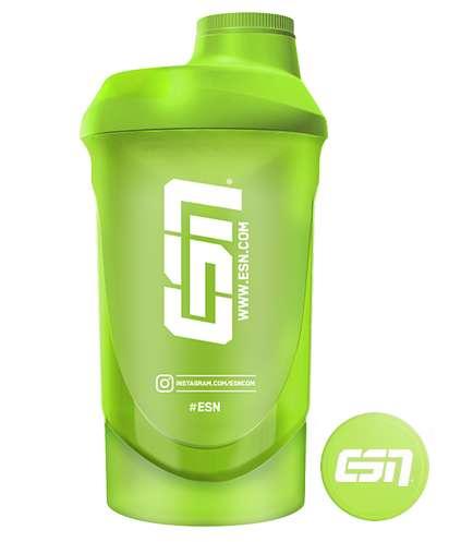 ESN Shaker Green Transparent, 1 Stück