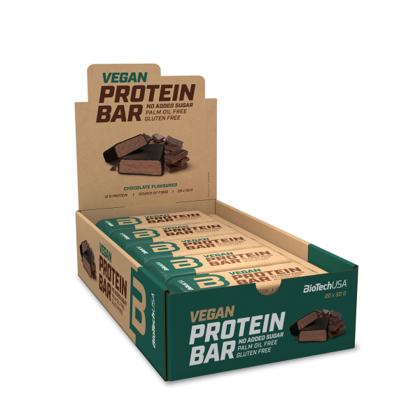 Biotech USA Vegan Protein Bar 20 x 50g