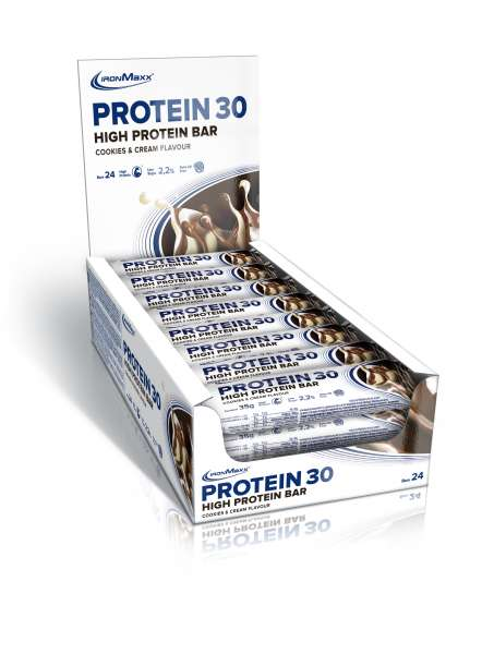 IronMaxx Protein 30 Protein Bar 24x35g