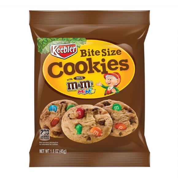 Keebler M&M´s Bite Size Cookies, 45g