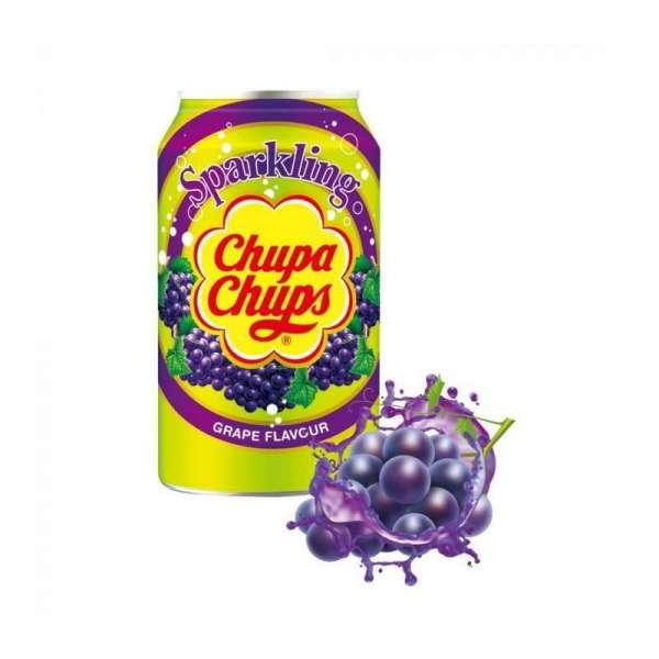 Chupa Chups Sparkling Grape, 24 x 345ml