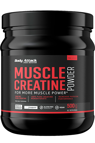 Body Attack Muscle Creatine Creapure, 500g