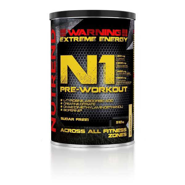 Nutrend N1 Pre-Workout, 510g