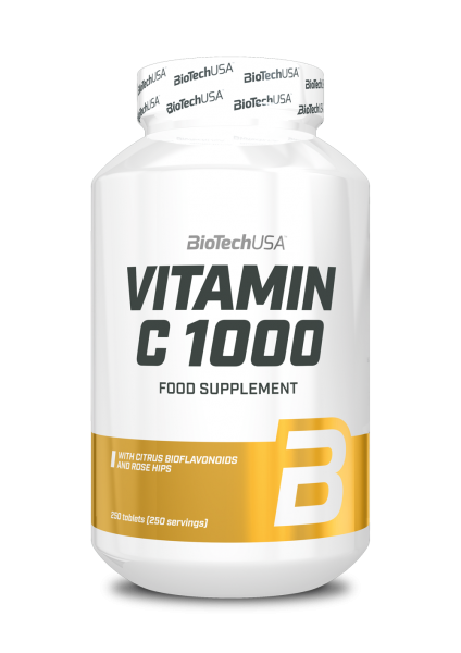 Biotech USA Vitamin C 1000, 250 Tabletten
