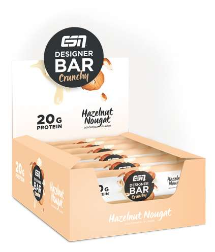 ESN Designer Crunchy Bar Box 12 Riegel, 720 g