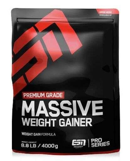 4000g ESN Massive Weight Gainer 4kg Extreme Mega Mass Hardcore