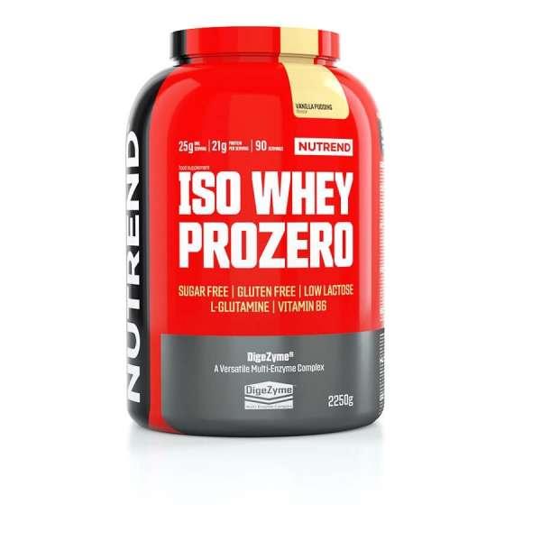 Nutrend Iso Whey Prozero, 2250g
