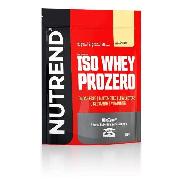 Nutrend Iso Whey Prozero, 500g