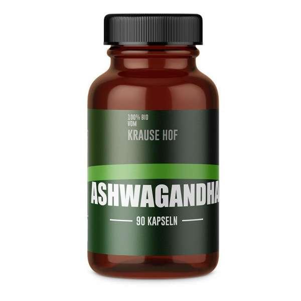 Krause Hof 100% BIO Ashwagandha, 90 Kapseln