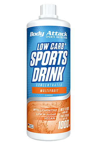 Body Attack Low Carb Sports Drink, 1000ml