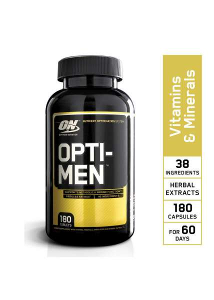 Optimum Nutrition Opti Men, 180 Tabletten