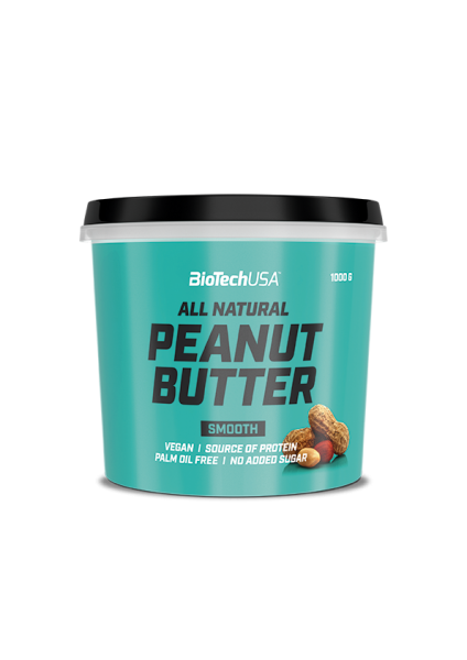 Biotech USA Peanut Butter Erdnussbutter, 1000g