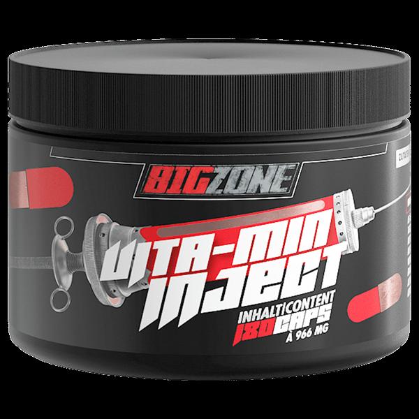 Big Zone Vita-min Inject, 180 Kapseln