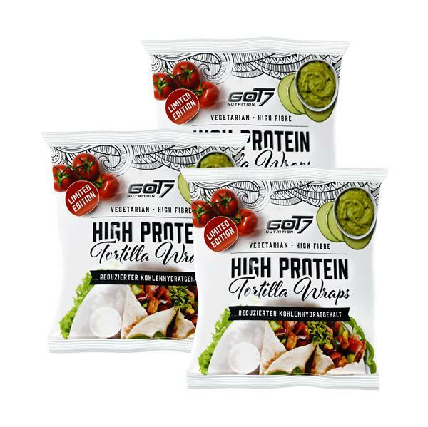 GOT7 Nutrition Protein Tortilla Wraps 3 x 280g