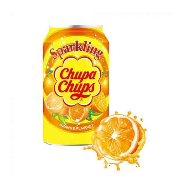 Chupa Chups Sparkling Orange, 24 x 345ml