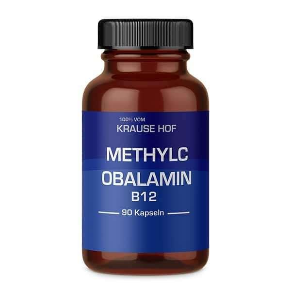 Krause Hof Krause Hof – Vitamin B12 Methylcobalamin – 90 Kapseln