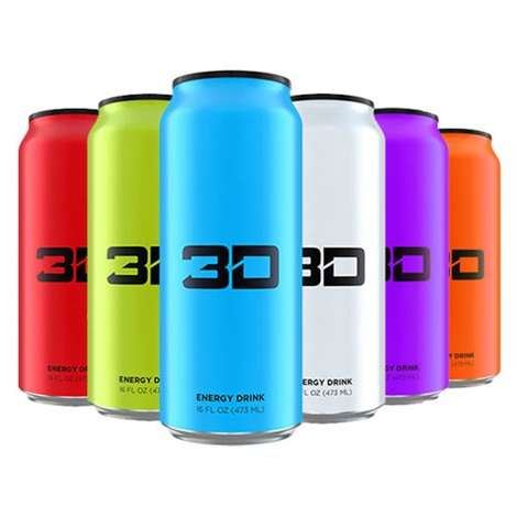 3D Energy Drink, 473ML