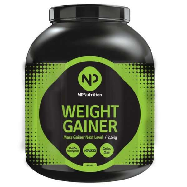 NP Nutrition - Weight Gainer 2,5 kg