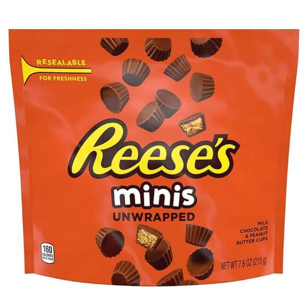 Reese's Peanut Butter Cups Minis, 215g