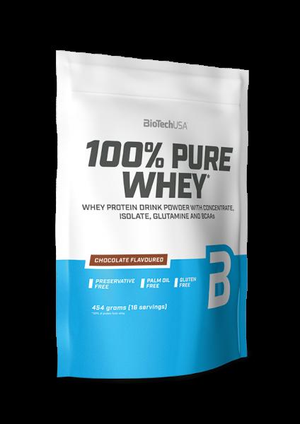 Biotech USA 100% Pure Whey Protein, 454g