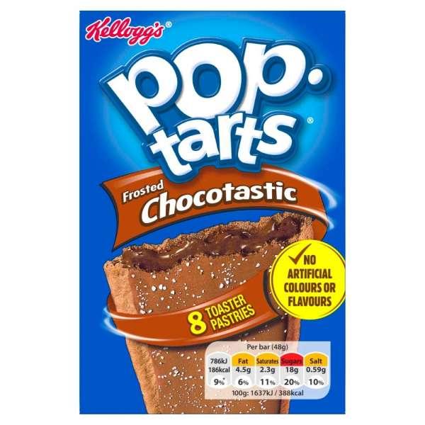 Kellogg´s Pop-Tarts Frosted Chocotastic 8x48g, 384g